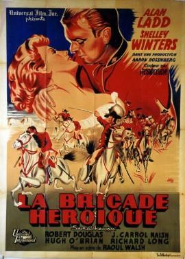 affiche du film BRIGADE HEROIQUE (LA)