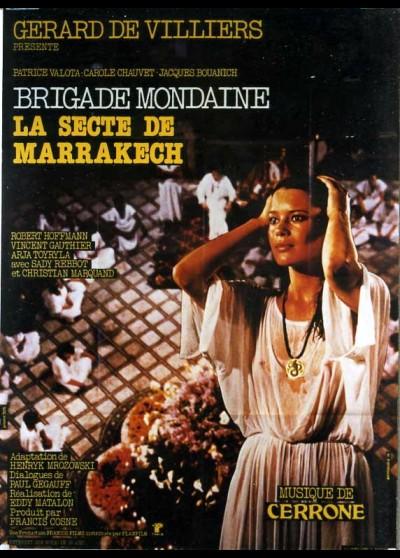 affiche du film BRIGADE MONDAINE LA SECTE DE MARRAKECH