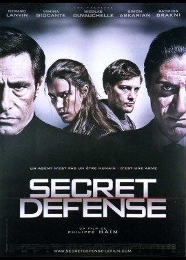 affiche du film SECRET DEFENSE