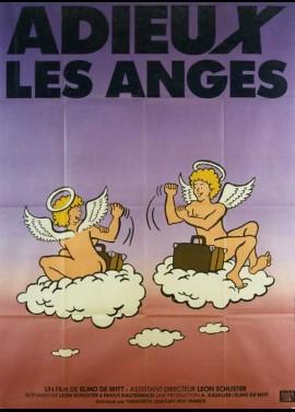 affiche du film ADIEUX LES ANGES