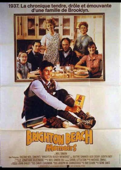 affiche du film BRIGHTON BEACH MEMOIRS