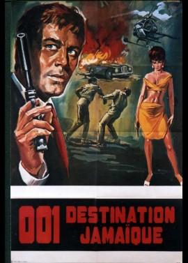 affiche du film ZERO ZERO UN DESTINATION JAMAIQUE