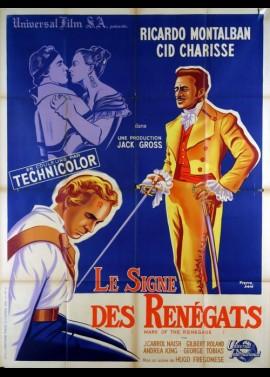 affiche du film SIGNE DES RENEGATS (LE)