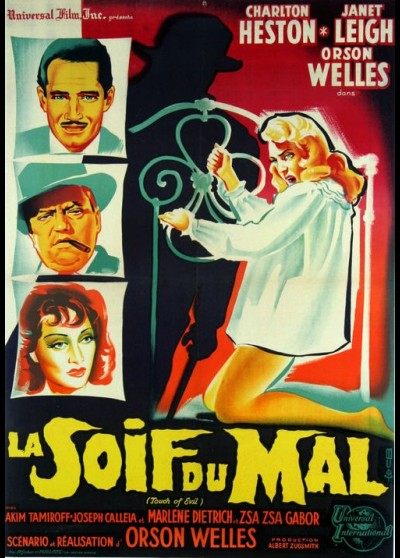 TOUCH OF EVIL movie poster