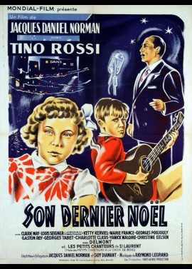 affiche du film SON DERNIER NOEL