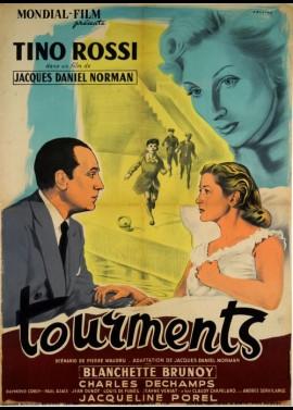 affiche du film TOURMENTS