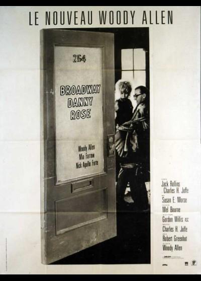 affiche du film BROADWAY DANNY ROSE