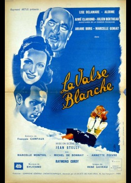 affiche du film VALSE BLANCHE (LA)