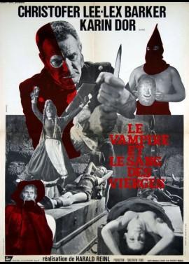 affiche du film VAMPIRE ET LE SANG DES VIERGES (LE)