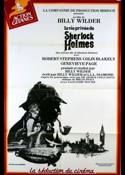 PRIVATE LIFE OF SHERLOCK HOLMES (THE) movie poster