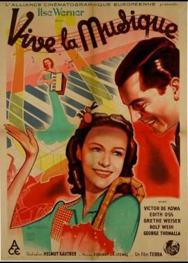 affiche du film VIVE LA MUSIQUE