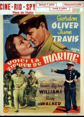 MARINES ARE HERE (THE) movie poster