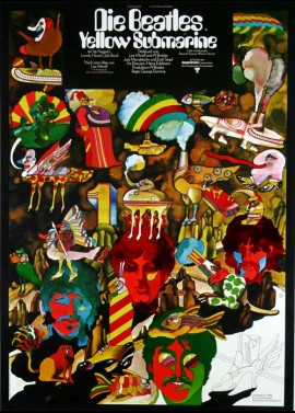 YELLOW SUBMARINE (THE) movie poster