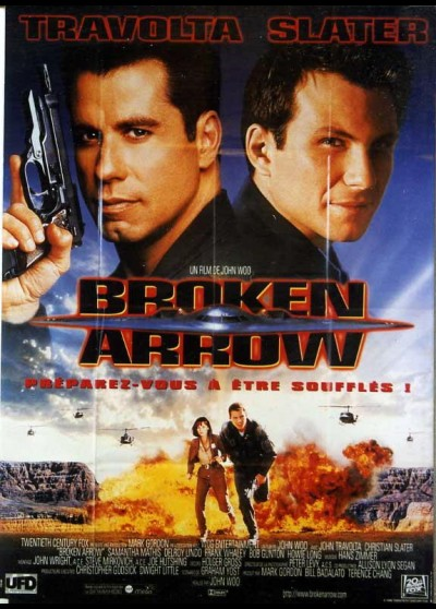 affiche du film BROKEN ARROW