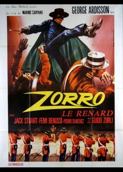 ZORRO (EL) movie poster