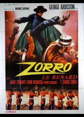 affiche du film ZORRO LE RENARD