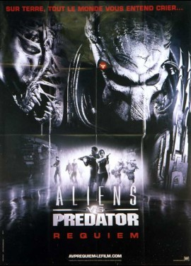 ALIENS VERSUS PREDATOR REQUIEM movie poster