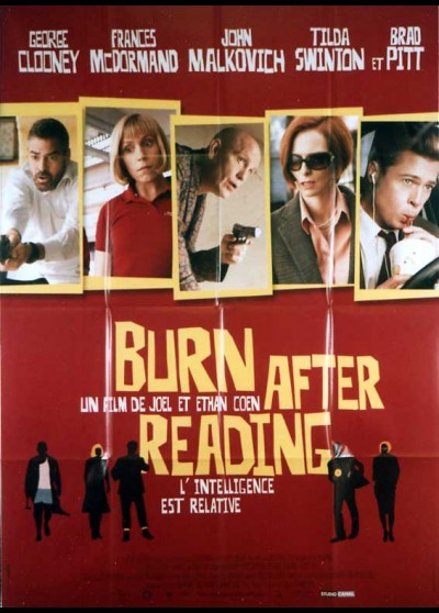 BURN AFTER READING movie poster