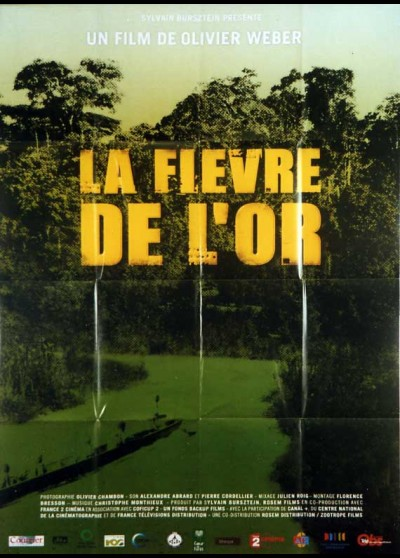 FIEVRE DE L'OR (LA) movie poster
