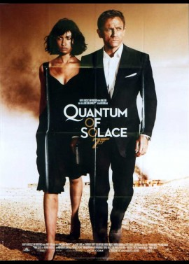 QUANTUM OF SOLACE movie poster