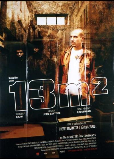 affiche du film TREIZE METRES CARRE