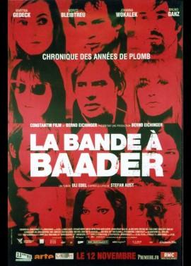 affiche du film BANDE A BAADER (LA)