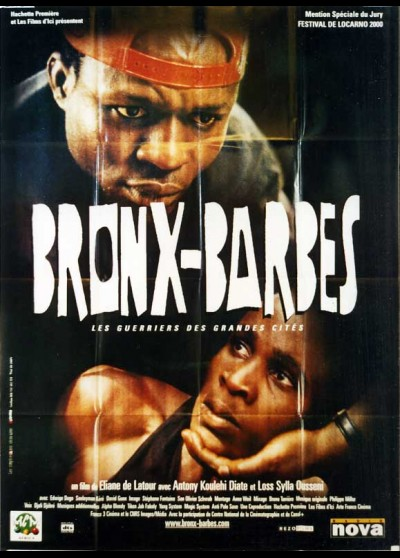 BRONX BARBES movie poster