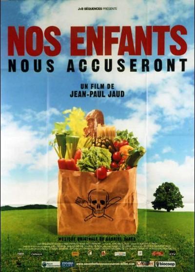 affiche du film NOS ENFANTS NOUS ACCUSERONT
