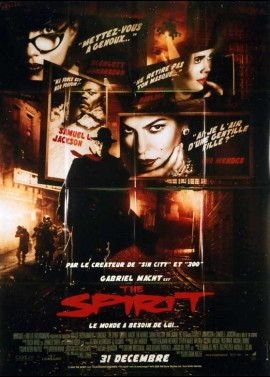 SPIRIT (THE) movie poster