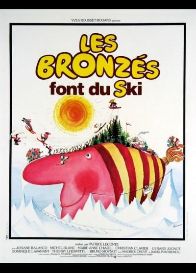 affiche du film BRONZES FONT DU SKI (LES)