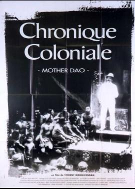 affiche du film CHRONIQUE COLONIALE / MOTHER DAO