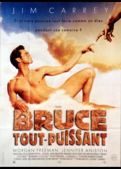 affiche du film BRUCE TOUT PUISSANT