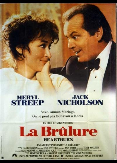 affiche du film BRULURE (LA)