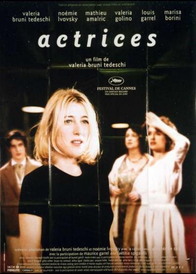 affiche du film ACTRICES