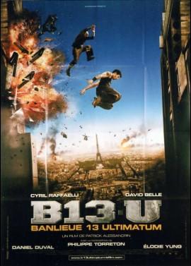 BANLIEUE 13 / BANLIEUE 13 ULTIMATUM / B 13 U movie poster