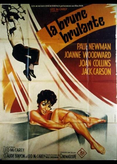 affiche du film BRUNE BRULANTE (LA)