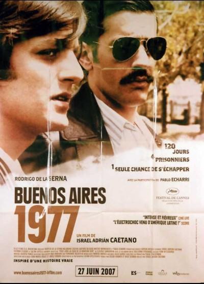 CRONICA DE UNA FUGA movie poster