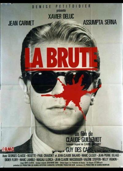affiche du film BRUTE (LA)
