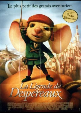 TALE OF DESPEREAUX (THE) movie poster