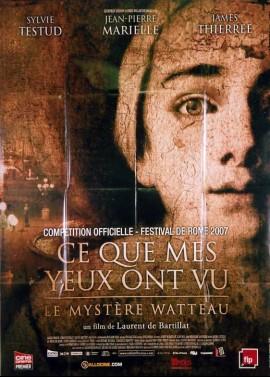 affiche du film CE QUE MES YEUX ONT VU