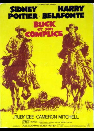 BUCK AND THE PREACHER movie poster