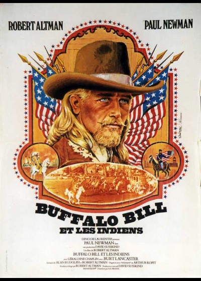 affiche du film BUFFALO BILL ET LES INDIENS