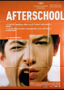 AFTERSCHOOL movie poster