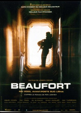 BEAUFORT movie poster