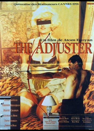 affiche du film ADJUSTER (THE)
