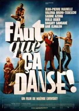 affiche du film FAUT QUE CA DANSE