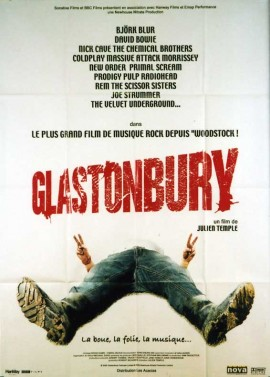 GLASTONBURY movie poster