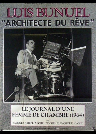 BUNUEL ARCHITECTE DU REVE / LE JOURNAL D'UNE FEMME DE CHAMBRE movie poster