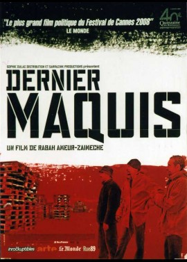 affiche du film DERNIER MAQUIS