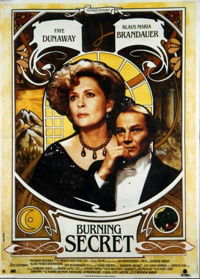 affiche du film BURNING SECRET